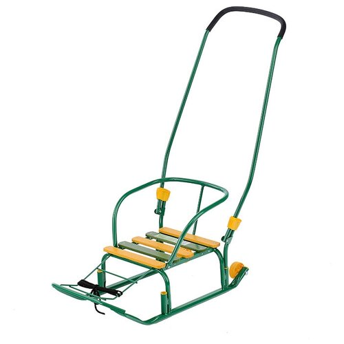 Игрушка. Санки Тимка-3К+ (цвет зеленый) санки nika тимка 3к универсал т3ку