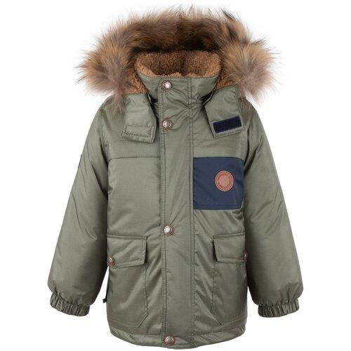 Купить Куртка KERRY Tom K20438 размер 122, 324 хаки, Куртки и пуховики