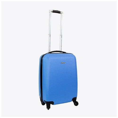 Чемодан Rion+, 434 голубой 18 чемодан rion 418 3 62 л голубой
