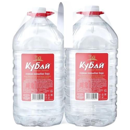 ledenev вода питьевая негазированная 1 5 л Вода питьевая негазированная Кубай 5 л. 2 шт.