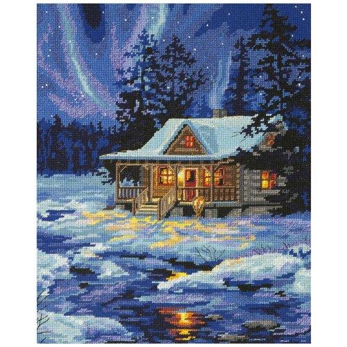 Фото - Dimensions Набор для вышивания Хижина под зимним небом 27 x 35 см (71-20072) набор для вышивания dimensions 03896 уютное укрытие46 x 23 см