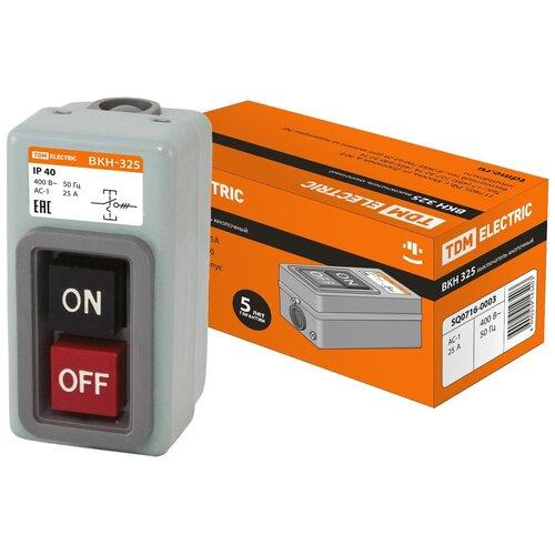 ВКН-325 3Р 25А 230/400В IP40 TDM Electric (SQ0716-0003)