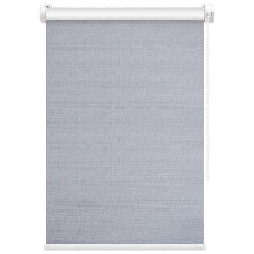 Рулонная штора FixLine Twist (светло-серый), 65х180 см