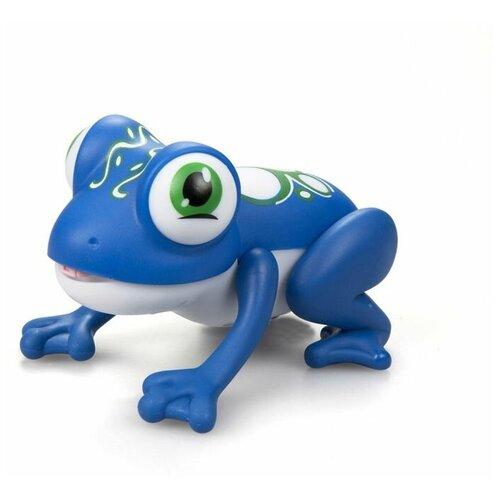Фото - Интерактивная игрушка-робот Silverlit Лягушка Глупи (синяя) интерактивная игрушка робот silverlit macrobot оранжевый