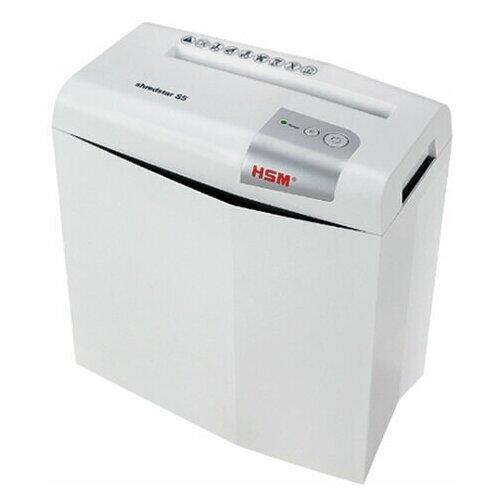 Уничтожитель (шредер) HSM SHREDSTAR S5-6.0 2 уровень секретности 6 мм 5 листов 12 литров 1041121 1 шт.