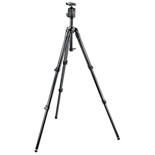 Фото - Штатив Manfrotto MK057C3-M0Q5 и шаровая головка для фотокамеры штатив трипод с гибкими ножками держатель для смартфона шаровая головка isa