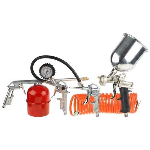 Набор пневмоинструментов STAYER 06488-H5 набор стамесок stayer 1820 h5