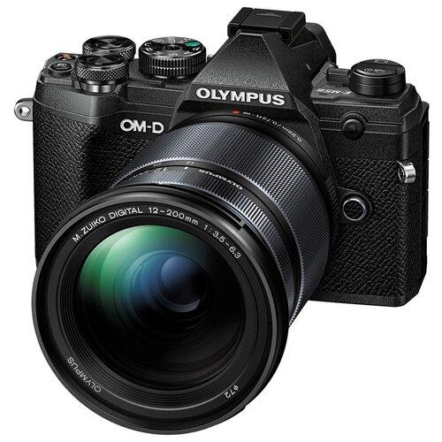 Фотоаппарат Olympus OM-D E-M10 Mark III Kit черный M.Zuiko Digital 12-200mm F/3.5-6.3