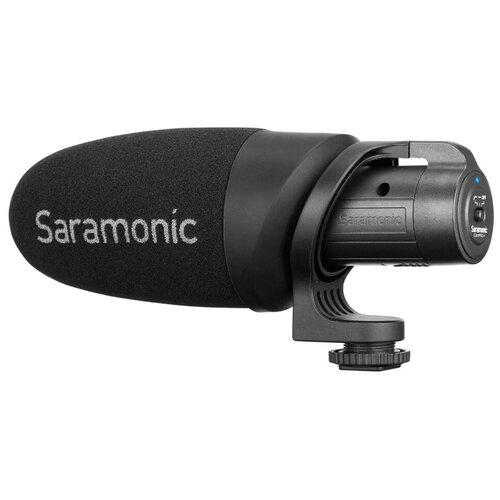 Микрофон Saramonic CamMic+, направленный, моно, 3.5 мм TRS + TRRS