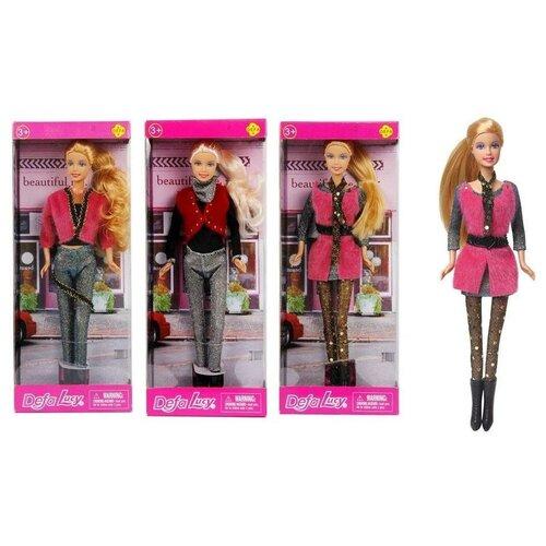 Кукла Defa Lucy Блестящая коллекция, 3 вида в коллекции