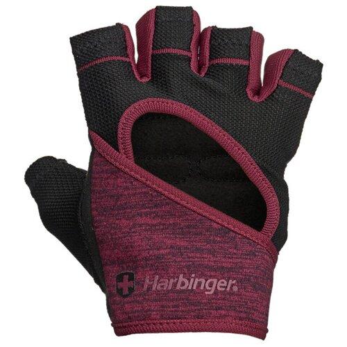 Женские перчатки для фитнеса Harbinger FlexFit, бордовые, размер S женские перчатки harbinger flexfit размер s черные