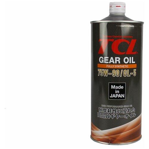 Трансмиссионное масло TCL Gear 75W90 Fully Synth GL-5 LSD 1л