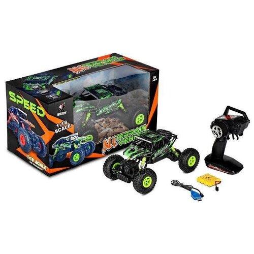 Shenzhen toys Гоночный автомобиль Conqueror 1:18 на РУ в коробке