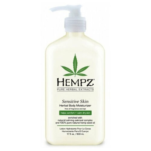 Фото - Hempz Молочко для тела увлажняющее Чувствительная кожа 500 мл молочко для тела uriage 500 мл увлажняющее