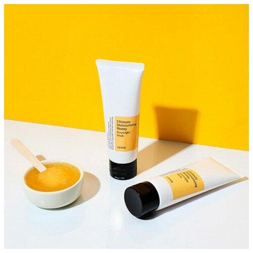COSRX Увлажняющая ночная маска медом Ultimate Moisturizing Honey Overnight Mask недорого