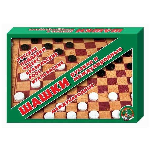 Настольная игра Десятое королевство Шашки/шашки