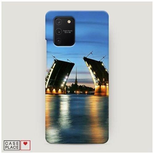 Чехол Пластиковый Samsung Galaxy S10 Lite Разведенные мосты в СПб 2