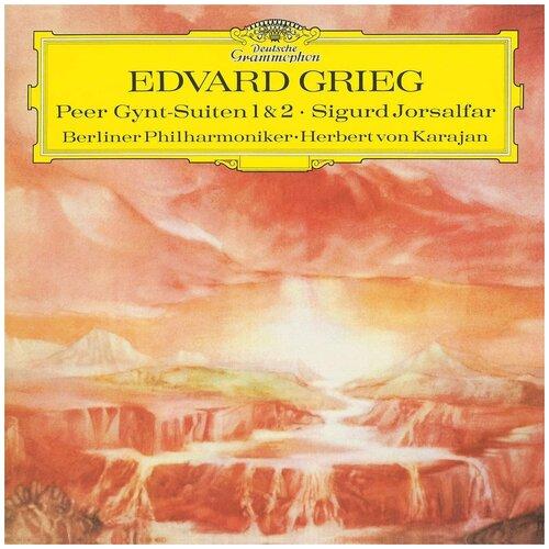 Deutsche Grammophon Edvard Grieg, Berliner Philharmoniker, Herbert von Karajan. Peer Gynt-Suiten 1 & 2, Sigurd Jorsalfar (виниловая пластинка) виниловая пластинка herbert von karajan offenbach overtures 0028948363988