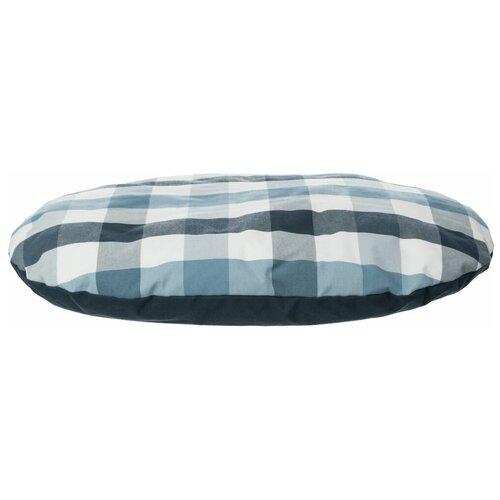 Лежак Jerry 60 х 40 х 8 см, х/б, синий/белый, Trixie (товары для животных, 36442)
