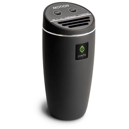 Автомобильный Очиститель Воздуха 12/220 Вольт GreenTech Environmental pureAir MOTION RB-V1 - Би-полярная Ионизация и Обеззараживание для Дома, Офиса и Автомобиля.