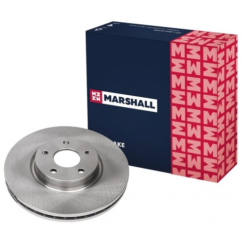 Тормозной диск передний MARSHALL M2000557 для Ford Mondeo IV 07- // кросс-номер TRW DF6019S // OEM 1500159; 1514427; 7G911125DA; 7G911125EA