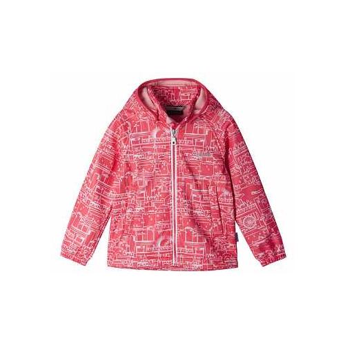 Купить Куртка Lassie 721723-3451 размер 140, 3361 красный, Куртки и пуховики