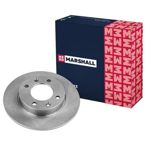 Тормозной диск задний MARSHALL M2000516 для Citroen Berlingo I 99-; Citroen C3 I 02-; Citroen C4 I 04-; Citroen Xsara Picasso 99-; Peugeot 307 00-; Peugeot Partner I 96- // кросс-номер TRW DF4185 // OEM 424990; 424953; 4246W9; 1618861980; 4246X8