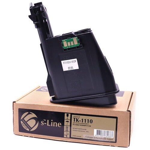 Фото - Тонер-картридж булат s-Line TK-1110 для Kyocera FS-1040 (Чёрный, 2500 стр.) тонер картридж булат s line tk 475 для kyocera fs 6025mfp чёрный 15000 стр