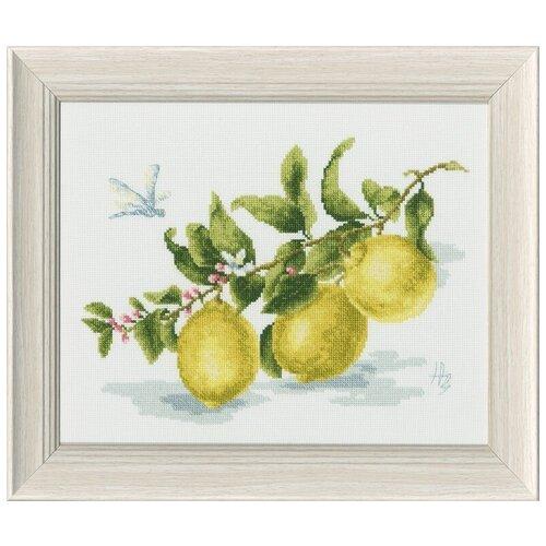 Набор для вышивания «Золотое Руно» ФС-006 Веточка лимона (по мотивам картины Н. Зубковой)