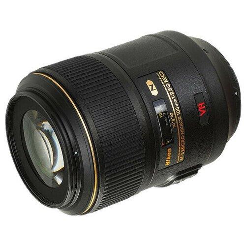 Фото - Объектив Nikon Nikkor AF-S 105 mm F/2.8 G IF-ED VR Micro объектив nikon af s nikkor 500mm f 5 6e pf ed vr