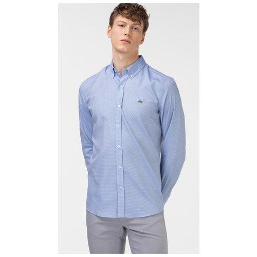 Рубашка LACOSTE размер 6/XL голубой