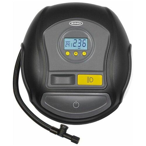 Автомобильный компрессор Ring Automotive, цифровой, RTC600, черный