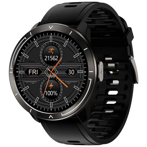 Часы Smart Watch M18plus GARSline черные (ремешок черный)