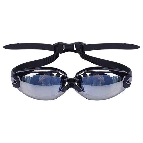 Очки для плавания Wave 001033, черный очки для плавания mad wave spurt rainbow azure white