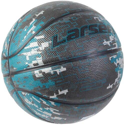Мяч баскетбольный Larsen Camo Blue р7 баскетбольный мяч larsen pu6 р 6