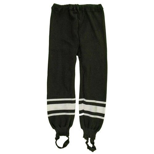Фото - Спортивные брюки LECOMPRO размер 122-128, черный/белый спортивные брюки stone island размер 8 128 голубой