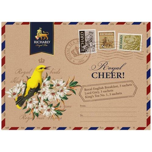 Чай Richard Royal tea Assortment ассорти в пакетиках подарочный набор, 9 шт. чай richard royal advent calendar ассорти в пирамидках подарочный набор 25 шт