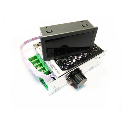 MP301M ШИМ регулятор мощности 12-80В / 30А в корпусе с радиатором и дисплеем