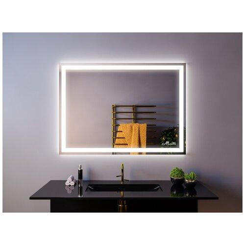 Зеркало с подсветкой Miralls Edging 60x90, прямоугольное + интерьерная подсветка