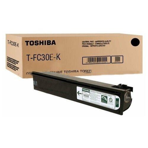 Фото - Тонер Toshiba T-FC30EK Black/Черный 6AJ00000093 тонер toshiba t 2340e