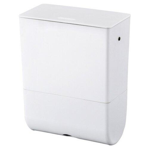 Ведро для мусора, держатель б/полотенец, Foodatlas JAH-543, 6л (белый) ведро для мусора держатель б полотенец foodatlas jah 543 6л белый