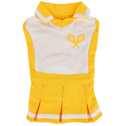 Платье для собак Puppia Ace S желтый