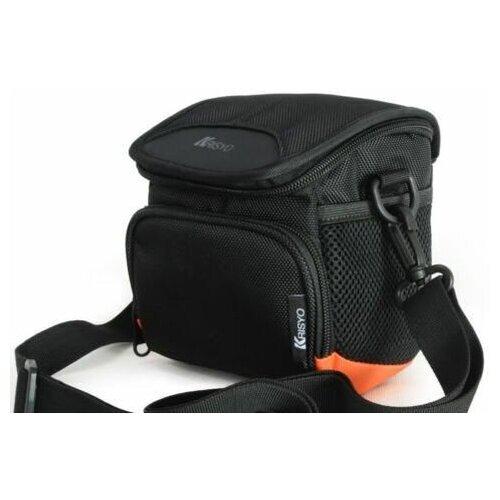 Фото - Сумка для фотоаппарата или видеокамеры универсальная Krisyo WD-216 сумка для компактного фотоаппарата lagoda alfa 019 черно серая с полосой