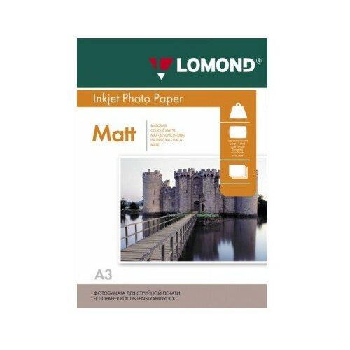 Фото - Фотобумага Lomond A3 230g/m2 матовая одностороняя 50 листов фотобумага lomond 100x150 180g m2 матовая односторонняя 50 листов 102063