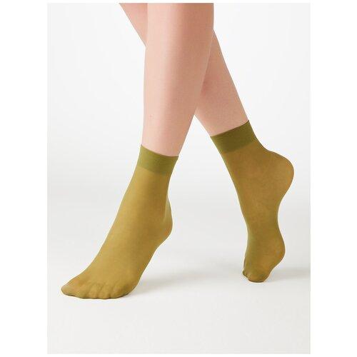 Капроновые носки MiNiMi Micro Colors 50 3D, размер 0 (one size), avocado