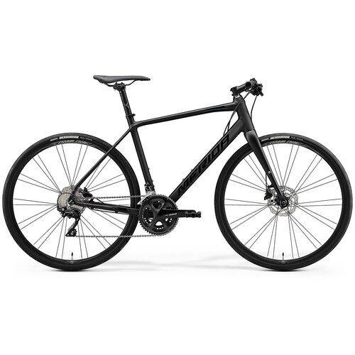 Велосипед Merida Speeder 400 MattBlack/GlossyBlack 22 скорости ML (54 см) 63946 велосипед merida speeder 80 2019