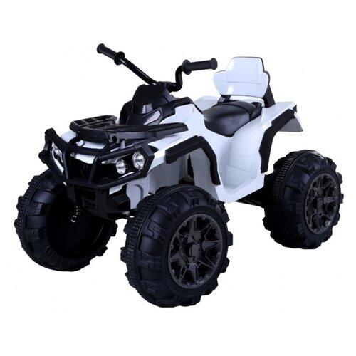 детский электромобиль jiajia bmw x6m black 12v jj2168 Детский электромобиль квадроцикл на аккумуляторе Jiajia BDM0906-WHITE-RC