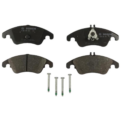 Дисковые тормозные колодки передние Bosch 0986494263 для Mercedes-Benz CLS-class, Mercedes-Benz C-class, Mercedes-Benz E-class, Mercedes-Benz SLK-class (4 шт.)