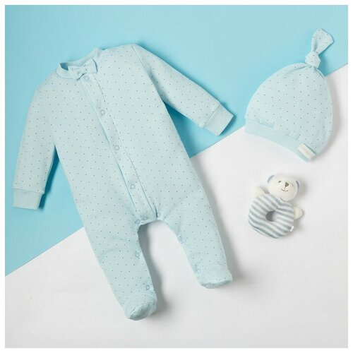 Фото - Комплект одежды Крошка Я размер 68-74, голубой комплект одежды leader kids размер 68 голубой