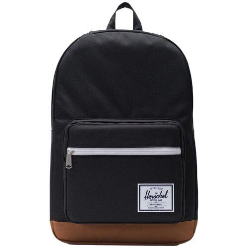Городской рюкзак Herschel Pop Quiz 22, black/saddle brown